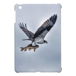 FliegenOsprey mit Foto der Hornhautfleck-Fisch-HDR iPad Mini Hülle