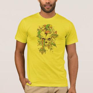 Fliegenregenbogen Schädelinsel T-Shirt