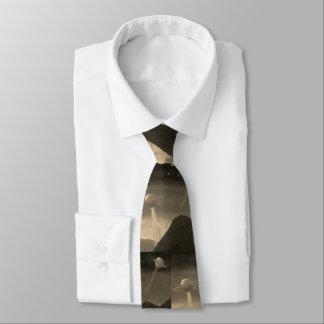 Fliegensaucer-Krawatte Krawatte
