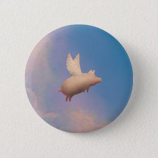Fliegenschweinknopf Runder Button 5,1 Cm
