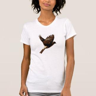 Fliegenvogelt-shirt des Spatzen im Flug - T-Shirt