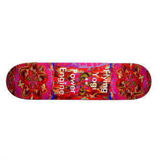 Fliegenyogi-Power-Motor 2 Personalisierte Skateboards