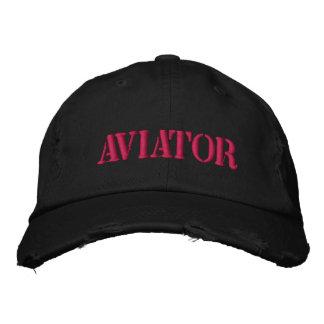 Flieger-Baseball-Mütze Bestickte Kappe