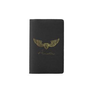 Flieger durch arabisches Versuchsnotizbuch Moleskine Taschennotizbuch