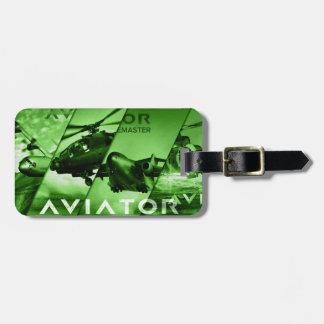 Flieger-Flugzeuge Gepäck Anhänger
