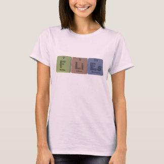 Flies-F-Li-Es-Fluorine-Lithium-Einsteinium.png T-Shirt