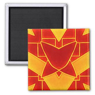 fliese2 quadratischer magnet