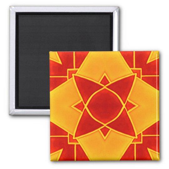 fliese4 quadratischer magnet