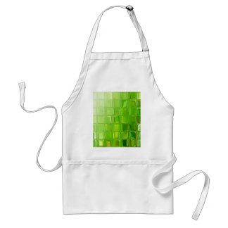 Fliesen des grünen Glases Schürze