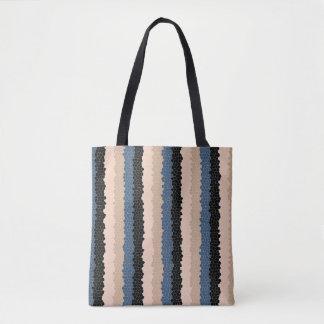 Fliesen-Streifen-Taschen-Tasche Tasche