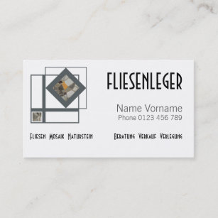 Fliesen Visitenkarten Zazzle De