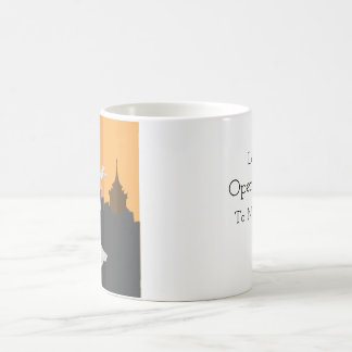 Fließende SprachTasse Kaffeetasse