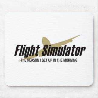 Flight Simulator-Grund, den ich aufstehe Mousepad