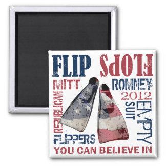 Flipper für Romney Magneten Quadratischer Magnet