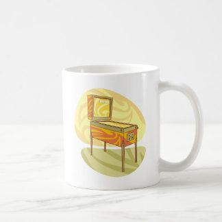 Flipperautomatmaschine Kaffeetasse