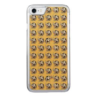 Flippige Büffel Carved iPhone 8/7 Hülle