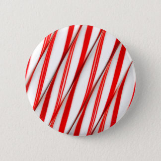 Flippige Chrstmas Zuckerstangen Runder Button 5,1 Cm