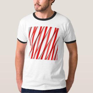 Flippige Chrstmas Zuckerstangen T-Shirt