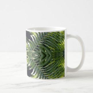 Flippige Farne Kaffeetasse