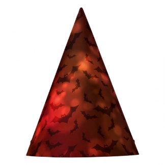 Flippige gespenstische Neonschläger-glücklicher Partyhütchen