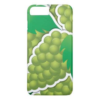 Flippige grüne Trauben iPhone 8 Plus/7 Plus Hülle