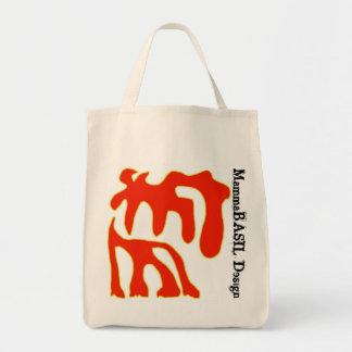 Flippige MammaBASIl Entwurfs-Tasche! Einkaufstasche