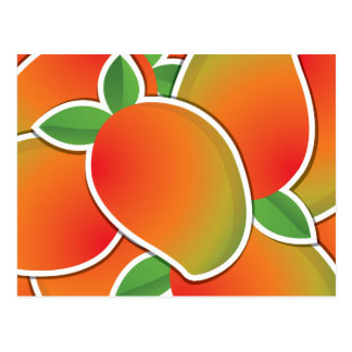 Flippige Mango Postkarte