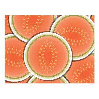 Flippige Melonen Postkarte