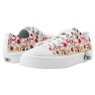 flippige mit Blumenschuhe Niedrig-geschnittene Sneaker