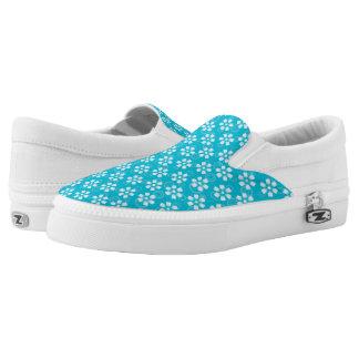 flippige mit Blumenschuhe Slip-On Sneaker