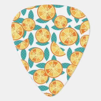 Flippige Orangen Plektron