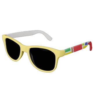 Flippige positive Schwingungens-Sonnenbrille Sonnenbrille
