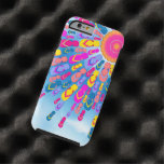 Flippige Sommersun-Flipflop-Strahlen Tough iPhone 6 Hülle