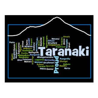 Flippige Taranaki stolze Postkarte