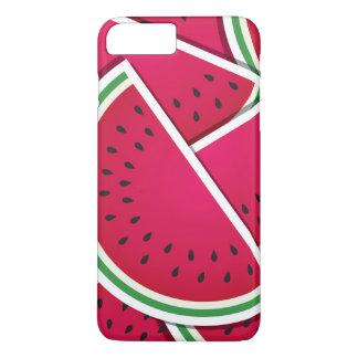 Flippige Wassermelonekeile iPhone 8 Plus/7 Plus Hülle