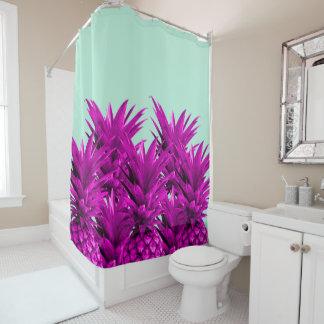 Flippiger Ananas-Duschvorhang Duschvorhang