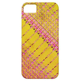 Flippiger gelber und rosa Telefon-Kasten für Hülle Fürs iPhone 5
