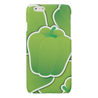Flippiger grüner Paprika