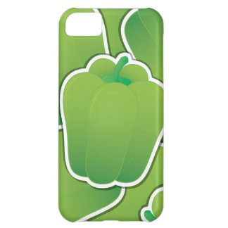 Flippiger grüner Paprika iPhone 5C Hülle