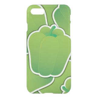 Flippiger grüner Paprika iPhone 7 Hülle