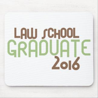Flippiger juristische Fakultäts-Absolvent 2016 Mauspads