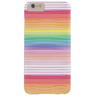 flippiger Mehrfarbenstreifentelefonkasten Barely There iPhone 6 Plus Hülle