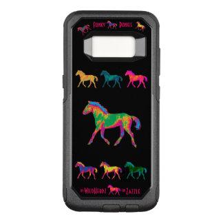 Flippiger Ponys WildHerdz Telefon-Kasten OtterBox Commuter Samsung Galaxy S8 Hülle