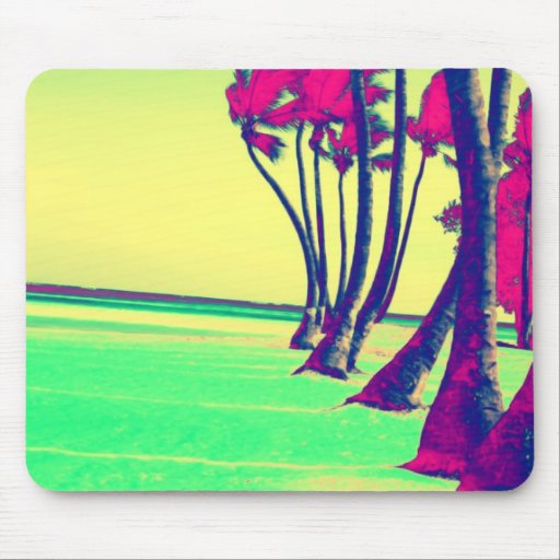 flippiger psychedelischer Strandentwurf Mousepads