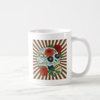 Flippiger Zucker Skulls Dia de Los Muertos Kaffeetasse