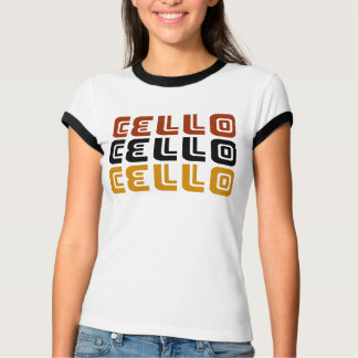 Flippiges Cello-Trio-Geschenk T-Shirt