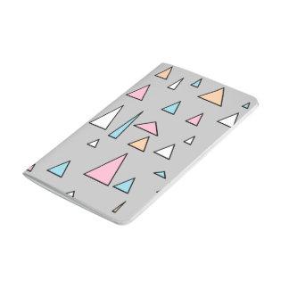 Flippiges Dreieck-Pastellfarbnotizbuch Taschennotizbuch