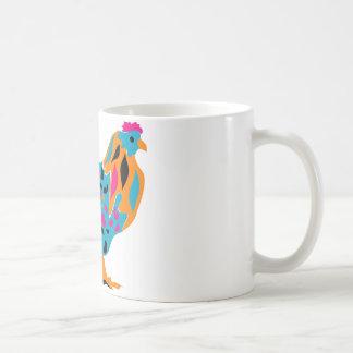 Flippiges helles Huhn Kaffeetasse