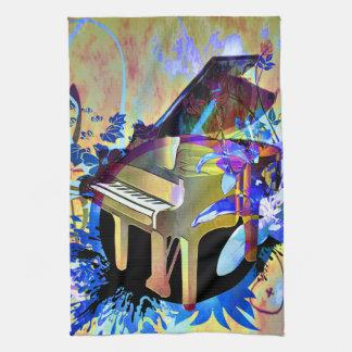 Flippiges Klavier Handtuch