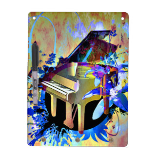 Flippiges Klavier Memoboard